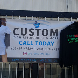 Custom Outdoor Banners Printing DC MD VA