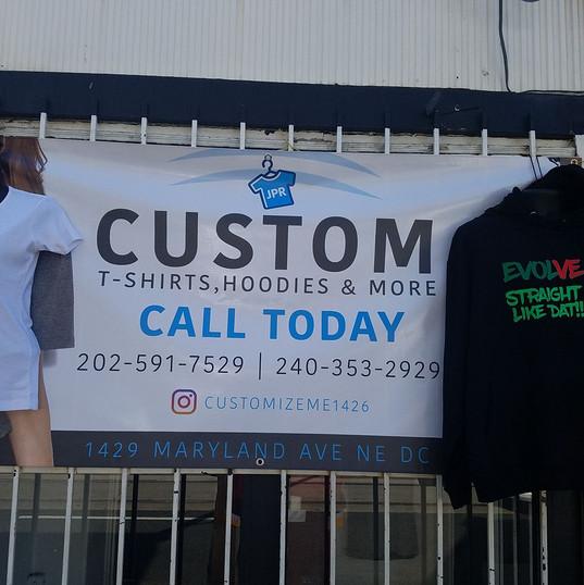 Custom Outdoor Banners Printing DC MD VA