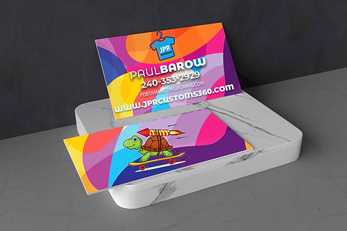 500 Business Cards Special (Design & Print)