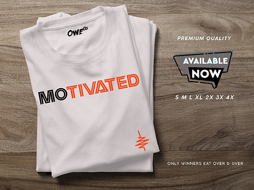 Motivated OWEoo T-Shirt (White)