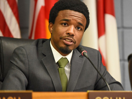 Colin Byrd, 27 becomes the youngest mayor in the history of Greenbelt, Maryland.
