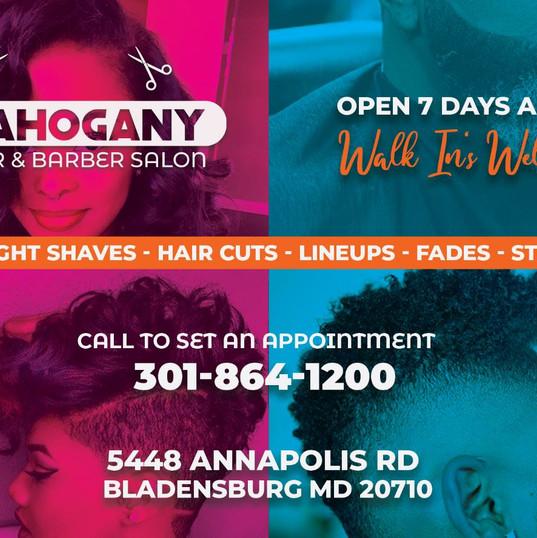 Barber Salon Flyer Design