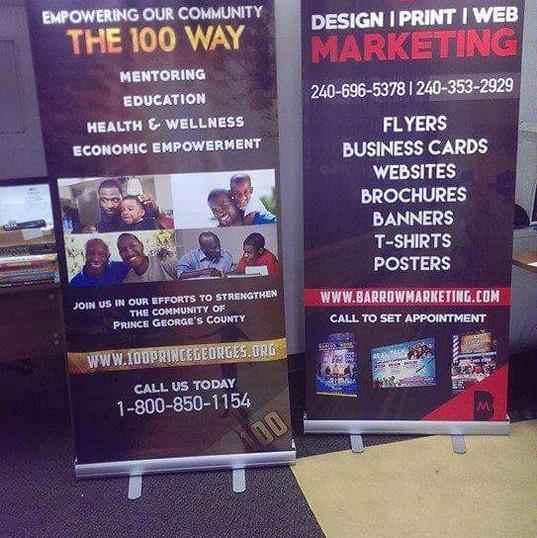 Custom Vinyl Vertical Banners