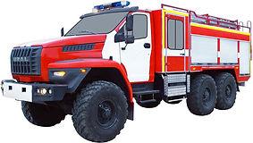 Автоцистерна пожарная АЦ 4,0-40 (Урал NEXT 5557) 2к