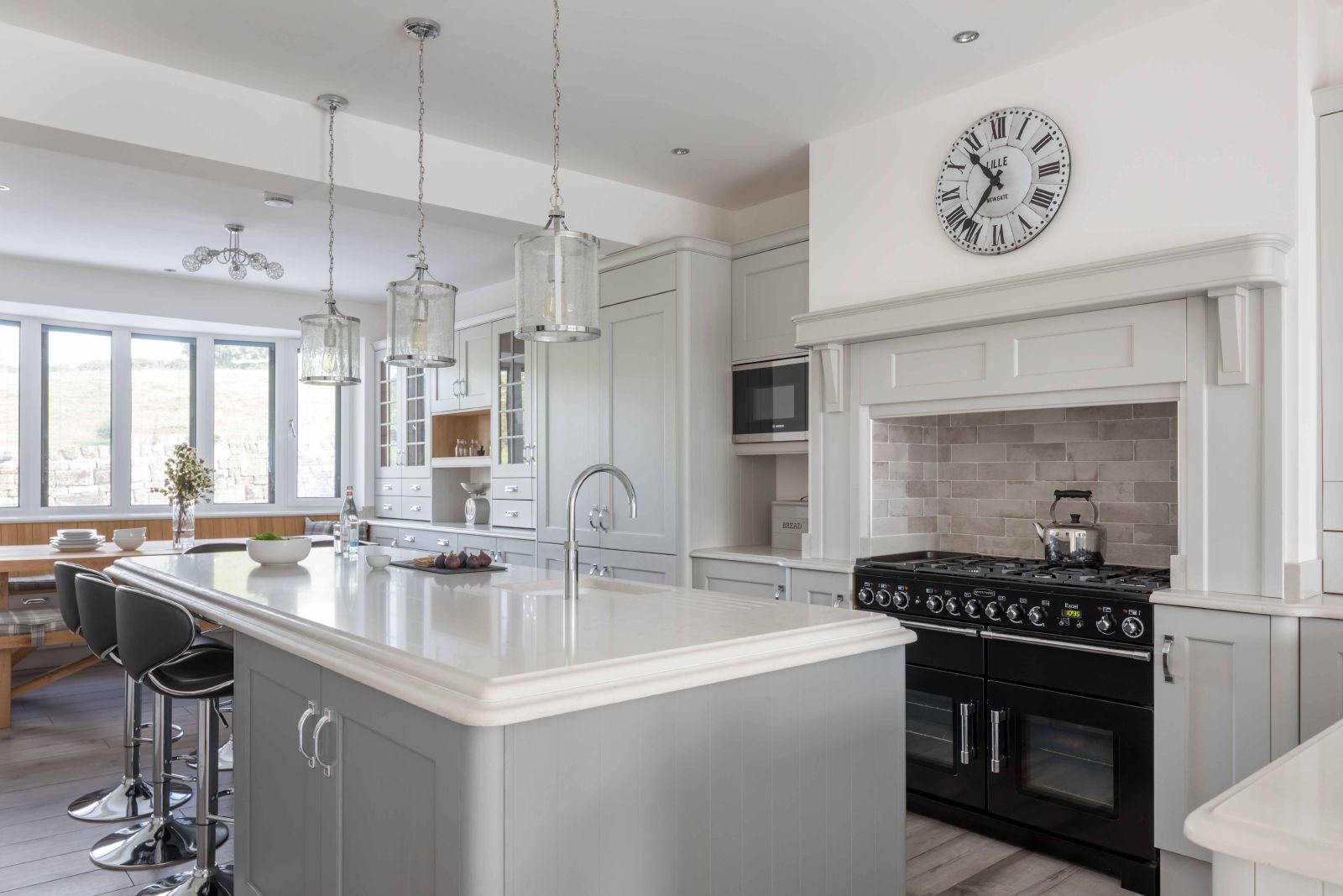 Masterclass-Kitchens-Grey-Shaker-Kitchen