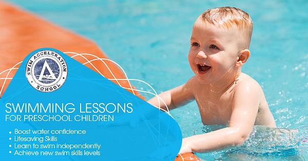 Swimming Lessons for Preschool Children.