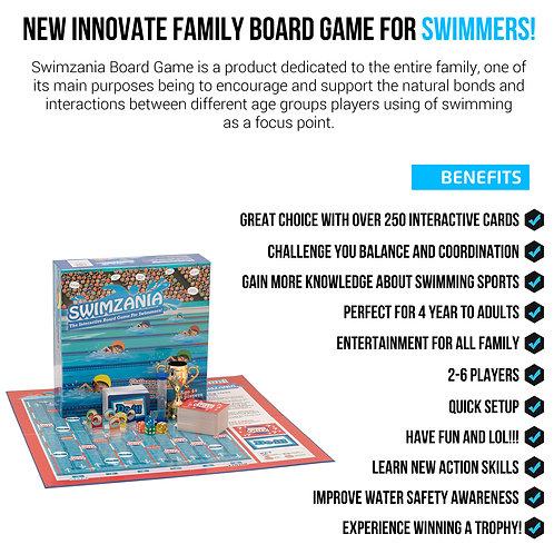 Swimzania - Swim Race Board Game
