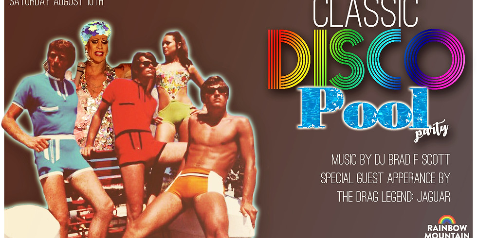 CLASSIC DISCO POOL PARTY