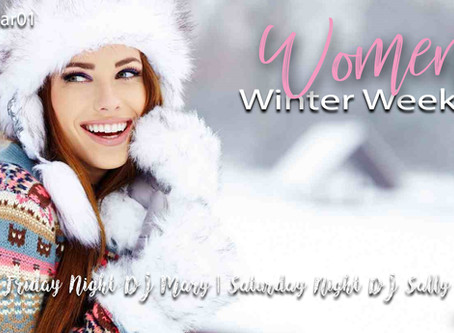 UP NEXT: Women's Winter Weekend