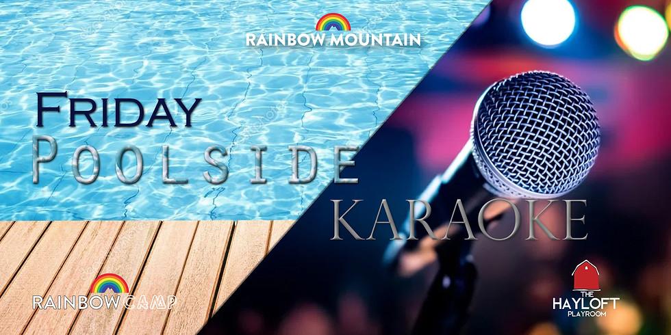 Poolside Karaoke