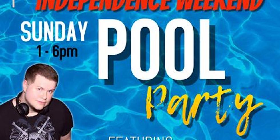 Poolside with DJ Steve Sidewalk