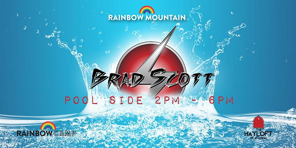 DJ Brad Scott Poolside
