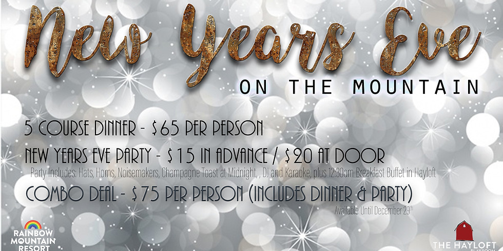 New Years Eve - Combo Deal