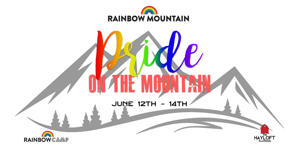 Pride on the Mountain June 12th-14th
