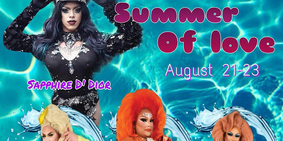 Summer of Love Poolside Drag Show