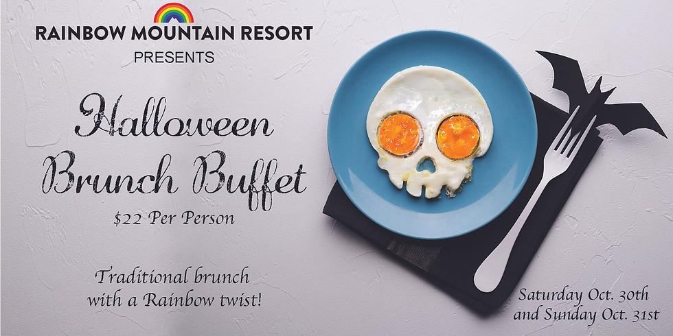 Halloween Brunch Buffet