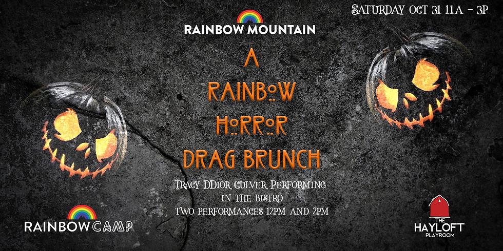 Rainbow Horror Brunch