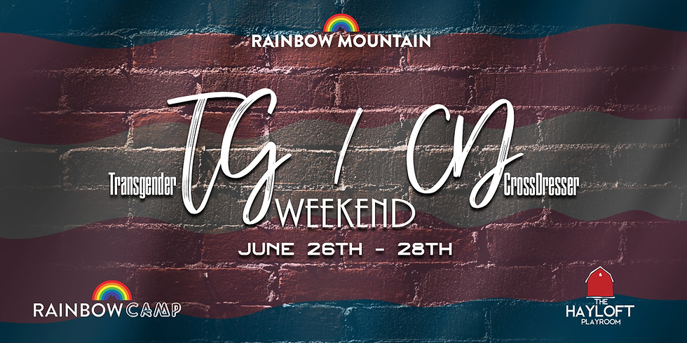 TG/CD Weekend June 26th-28th