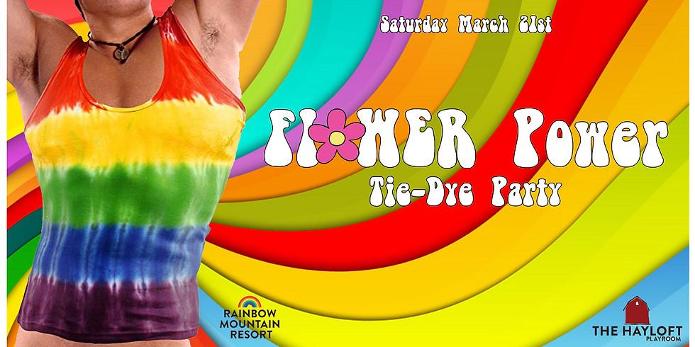 Flower Power Tie-Dye Party