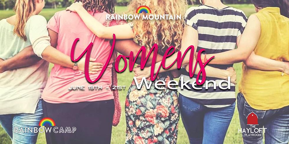 Women's Weekend June 19th-21st