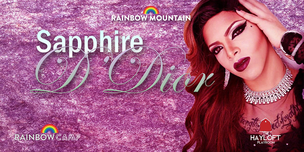 Sapphire D'Dior For Latin Weekend