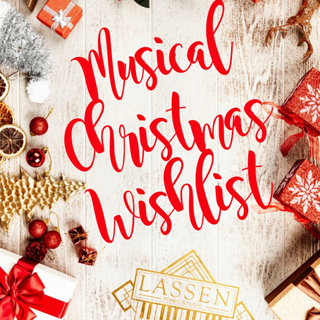 Musical Christmas Wishlist