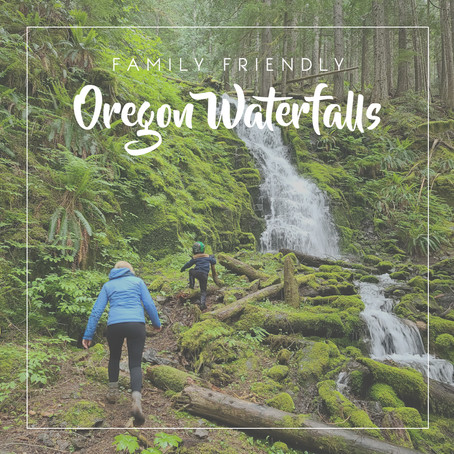 Family Friendly Oregon Waterfalls