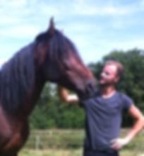 Jordan Réau, Débourrage, Jeunes chevaux, Longues rênes, Attelage. Ain / Haute-Savoie / Suisse