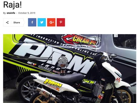 CTX membuktikan kualitasnya di dunia Racing