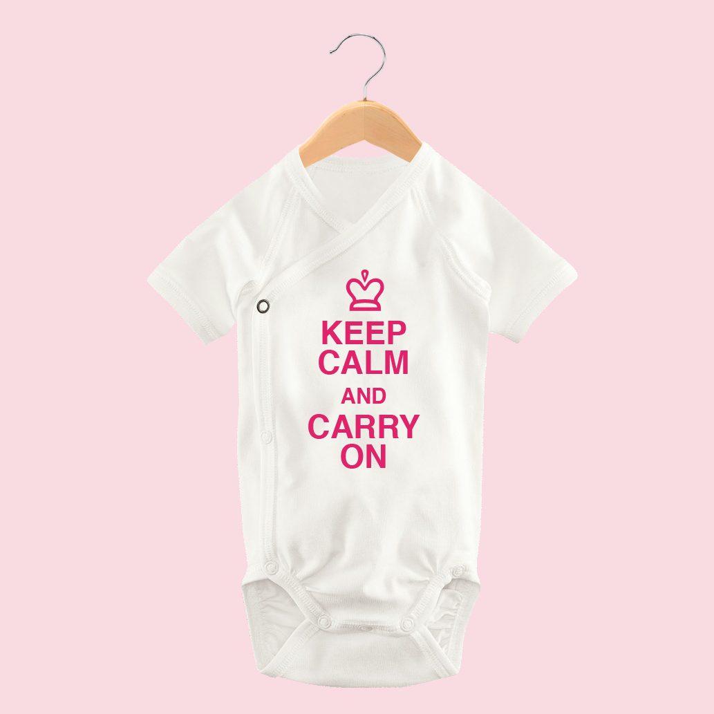 Keep Calm Bodysuit
