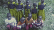 Happy New Year from the Children of Upendo Na Tumaini!