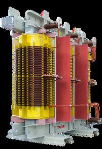 Transformador Trifásico Seco Clase H 2500 kVA serie 36 / 1.1 kV con pantalla electroestática