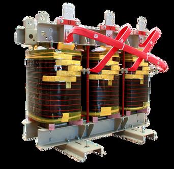 Transformador Trifásico Seco Clase H 650 kVA serie 1.1 / 1.1 kV