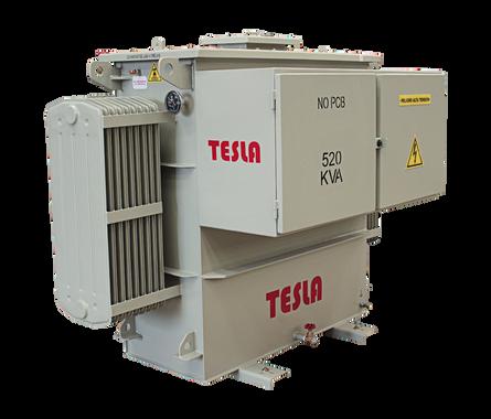 Transformador Trifásico de frecuencia Variable (SUT) 520 kVA Serie 5 kV