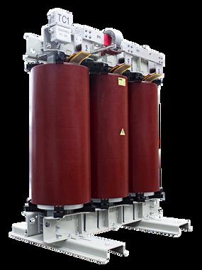 Transformador 1600 kVA con Transformador de corriente serie 15/1.1kV