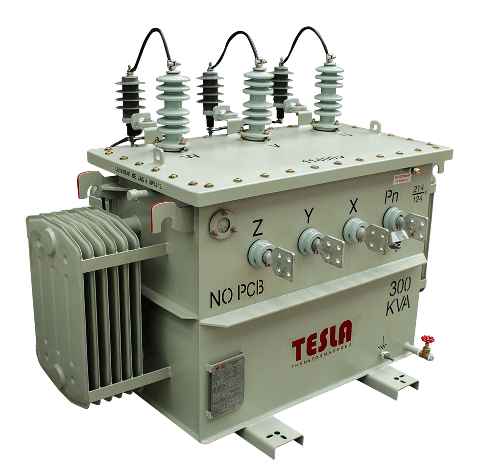 Transformador Trifásico Convencional 300 kVA Serie 15/1.2kV