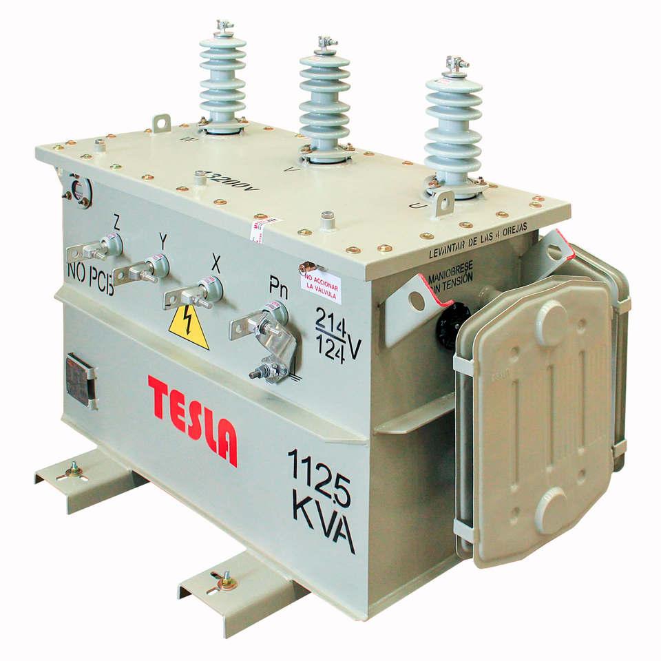 Transformador Trifásico Convencional 112,5 kVA Serie 15/1.2kV