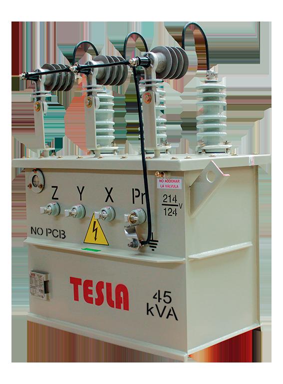 Transformador Trifásico Convencional 45 kVA Serie 15 / 1.2kV