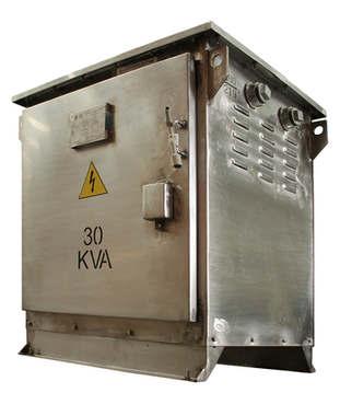 Gabinete de protección IP 61 Para transformador 30 kVA Serie 1.1/1.1 kV