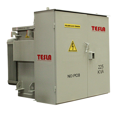 Transformador Trifásico Tipo Pedestal Radial 225 kVA Serie 15 / 1,2 kV