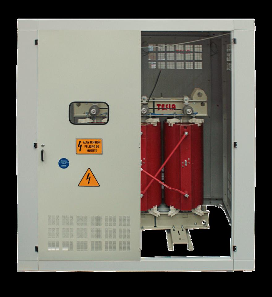 Gabinete de protección IP 20 para Transformador 1000 kVA Serie 15/1.1 kV