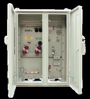 Transformador Monofásico Tipo Pedestal Radial 15 kVA Serie 15 / 1,2 kV