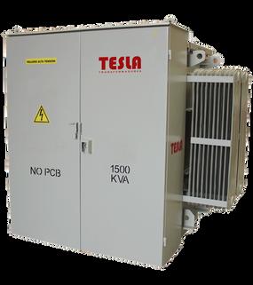 Transformador Trifásico Tipo Pedestal Malla 1500 kVA Serie 15 / 1.2 kV