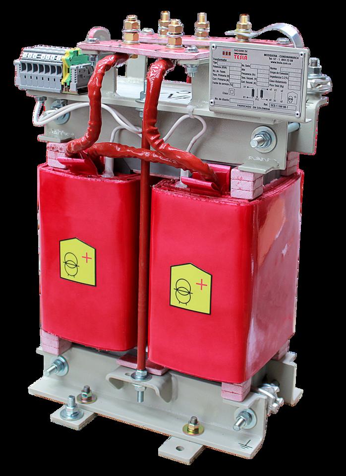 Transformador Monofásico Seco Clase H 10 kVA serie 1.1 / 1.1 kV