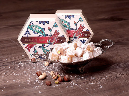 Mixed Nuts Turkish Delight