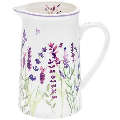 Purple Lavender Jug