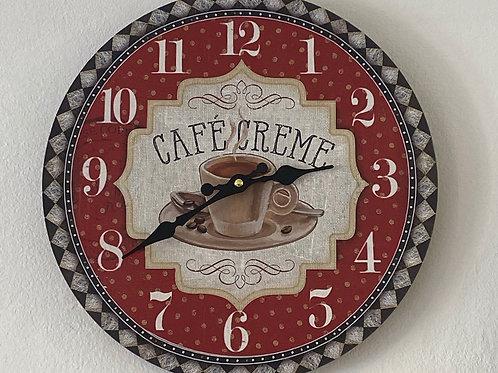 Cafe Creme Clock