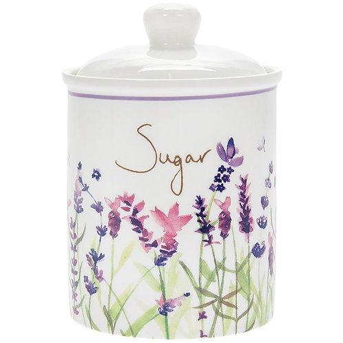 Purple Lavender Sugar Cannister
