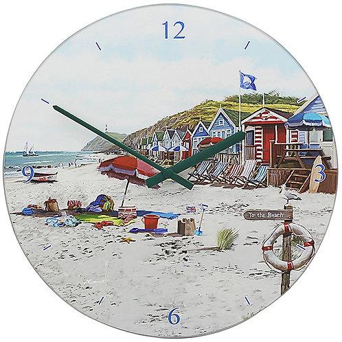 Sandy Bay Glass Clock