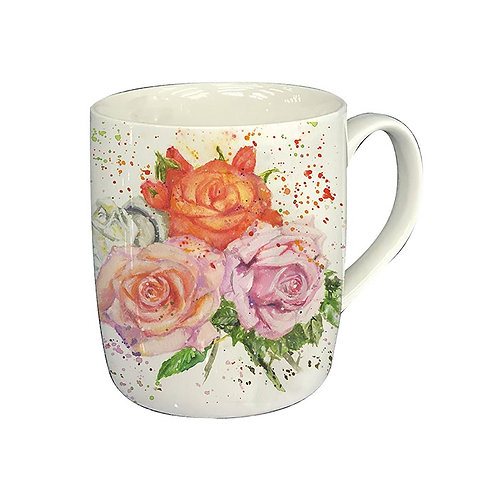 Rose Bouquet Mug